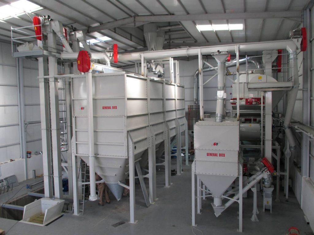 impianto pellettatura mangime