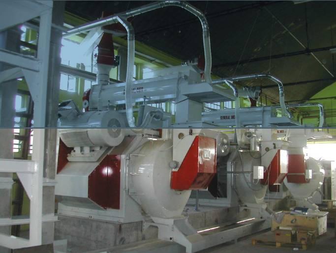 impianto pellet legno