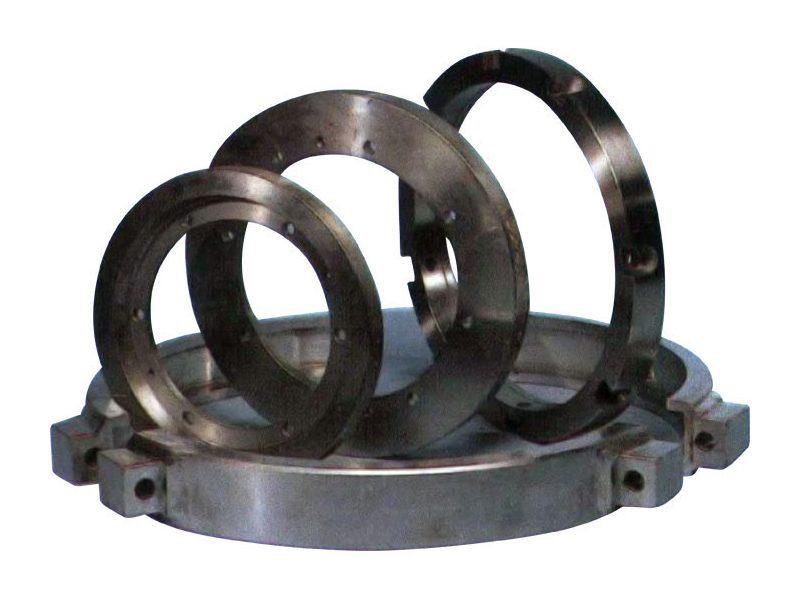 Кольца для центрирования матриц, кольца для центрирования крышки пресса, хомуты для блокировки матрицы